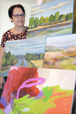 taide, kuvataide, maalaus, kesä