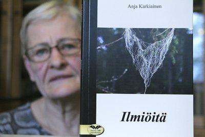 VINKKIKUVA, Anja Karkiainen, runo, runous, kirja