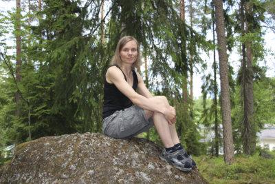 Anni Kytömäki, Kivitasku, kirjailija
