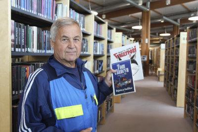 Unto Nokelainen, kirjasto 19.7.2017