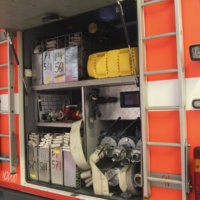 Kattilahuoneessa syttyi tulipalo – talossa ollut henkilö esti leviämisen