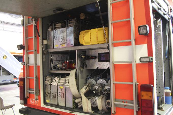 Paloauto, pelastuslaitos, Teivon paloasema