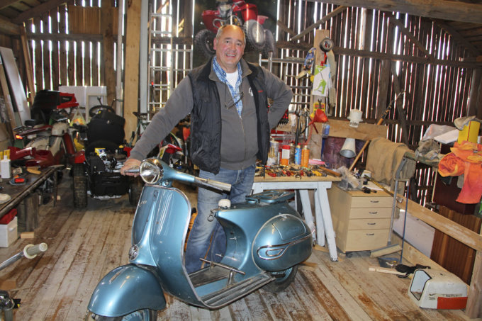 Jukka Peltonen, vanhat mopot