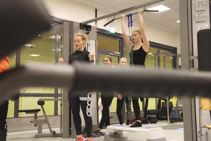 kuntosali, liikunta, liikuntapalvelut, nuoret