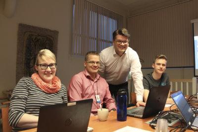 Tuhat nuorta johtajaa, Leppäkosken Energia, Anna-Mari Nyyssönen, Mika Kujala, Juha Koskela, Toni Fürpass