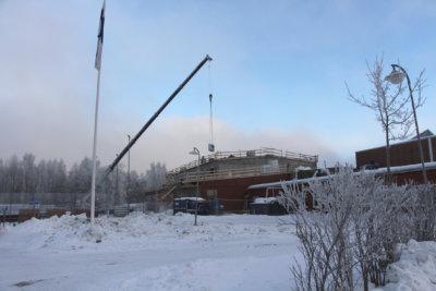Metsäkylän koulu, kakkosvaiheen laajennus, harjannostajaiset