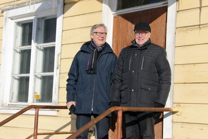 Pentti ja Juhani Säynäväjärvi