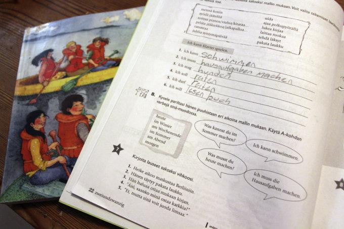 kielikokeilu, pakkoruotsi, toinen kotimainen kieli (Kuva: Iiria Lehtinen)