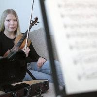 Nuorta viulutaitoa Salin klassisiin