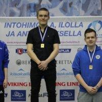 Niklas Myllymäki tähtäsi SM-hopeaa