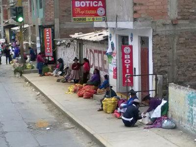 Vapaaehtoistyössä Perussa