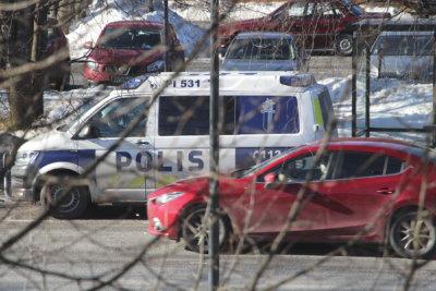 poliisi, poliisiauto (Kuva: Iiria Lehtinen)