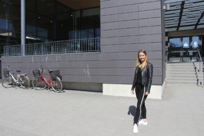 Sanni Räisänen, Show & Dance, tanssitapahtuma, urheilutalo, kuva: Iiria Lehtinen
