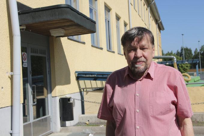 Ylen koulukysely, yhtenäiskoulu, Jussi Kytömäki, kuva: Iiria Lehtinen
