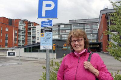 parkkisakot, parkkipaikka, kuva: Iiria Lehtinen