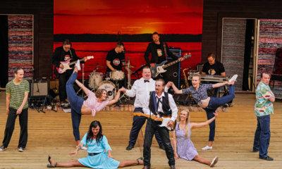 Topi Sorsakoski (1952-2011) on musikaalinsa ansainnut. On kesäyö -musikaalin pääroolissa loistaa Ilkka Koivula, joka laulajana ja olemukseltaan täyttää Sorsakosken mitat. (Kuva: Daniel Paul)