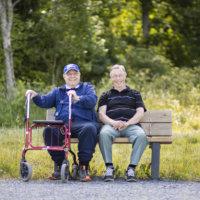 Erkki, 82, on innokas lenkkeilijä – kävellyt tälle vuodelle melkein 900 kilometriä