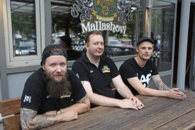 Mallashovi, Ville Ranta, Jussi Haliseva, Jesse Forsström, kuva: Iiria Lehtinen
