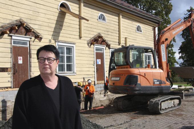 Räikkä, taiteilijaresidenssi, Minna Vallin, kuva: Iiria Lehtinen