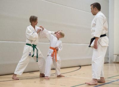Shotokan, karate, Veeti Luoma, Miska Vastamäki, kuva: Sanna Hillberg