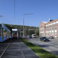 Lähijunaliikenne on houkutteleva vaihtoehto