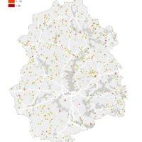 22 kunnan Pirkanmaalla autioituminen on todellinen ilmiö. Tähän Pirkanmaan karttaan on merkitty asukkaista tyhjentyneet alueet. Autioitumisruutujen sijainti on helppo paikantaa liikenneväylien avulla.