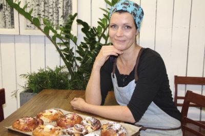 Annika Raatikainen, pulla, karjalanpiirakat, leipuri, kuva: Iiria Lehtinen