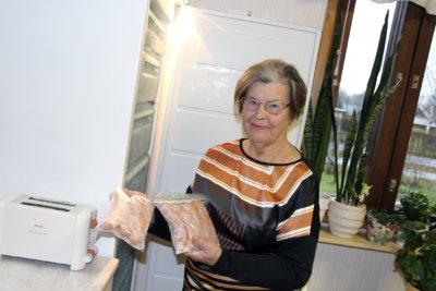 Kerttu Blom, diakonia, hävikkiruoka, kuva: Iiria Lehtinen