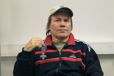 kultainen ansioristi, Timo Leppänen, voimanosto, kuva: Iiria Lehtinen