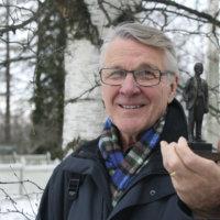 Antti-patsaan saanut Torbjörn Nikus kävi 25 kertaa Yhdysvalloissa ja etsi muun muassa vaarinsa veljen hautaa
