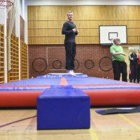 Ylöjärveläiskouluilla kiertää Jumppakärry, jonka tarkoituksena on tehdä liikkumisesta kivaa