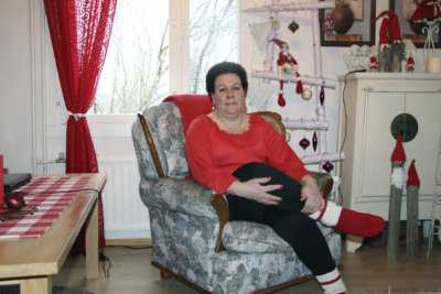 Saija Tahlo, joulu, joulukoristeet,(kuva: Iiria Lehtinen)