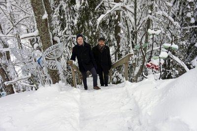 Olli Kortekangas ja Hannu Pohjannoro