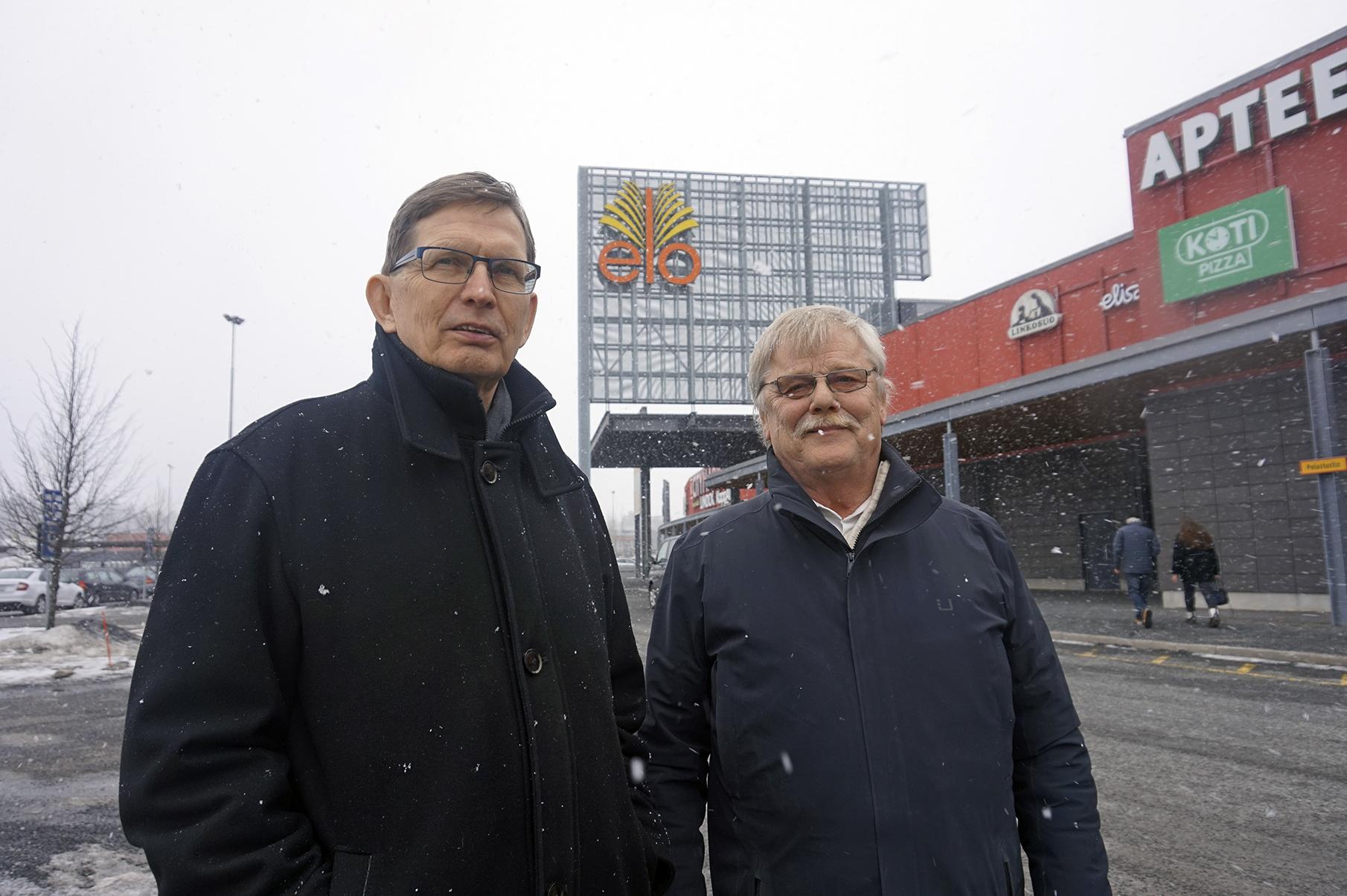 Pentti Sivunen ja Jaakko Pirtinaho