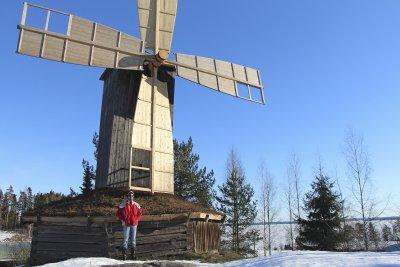 Vikelän tuulimylly, siivet, Timo Lahtinen