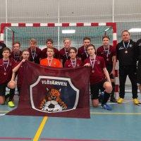 YIlveksen 17-vuotiaat pojat nappasivat futsalin SM-pronssia