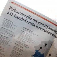 Tsekkaa Ylöjärven Uutisten vaalilehti maksutta – paikalliset ehdokkaat sekä yhdistykset saivat äänensä kuuluviin