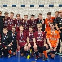 YIlveksen nuorukaiset juhlivat SM-hopeaa Tampereella