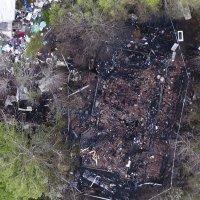 Valtava romumäärä oli levittää tulipalon naapuriin – katso Drone-video Metsäkylän palopaikalta