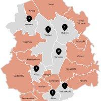 17 puoluetta on asettanut 269 ehdokasta europarlamenttivaaleihin