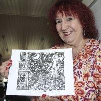 Katso kuvat upeista piirroksista! Asuntilassa asuva Riitta Oittinen kuvitti uuden Liisan seikkailut ihmemaassa -kirjan