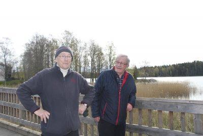 Suojastenlahti, Pertti Raita, Teuvo Hämäläinen, (kuva: Iiria Lehtinen)