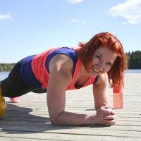 Ilo on kesäliikunnan avainsana – personal trainer Tanja Petman rohkaisee hyödyntämään koko suvista luontoa