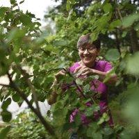 Maritta Moisio elää pitkälle talveen oman kasvimaan sadolla – Pakastimen kautta lautaselle päätyvät niin perunat, marjat kuin muotikasvi härkäpapukin