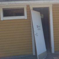 Lukijan kuva: Haverin uimarannan pukukopin ovi rikottiin juhannuksena