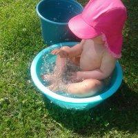 """Piia Toivo: Lapsen oma """"kylpytynnyri"""" Kyllä on ihanaa!"""