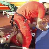 Kujanpään jalkaterä kääntyi 90 astetta sisäänpäin – ambulanssi maratonportista sisään – lue koko tarina