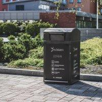 Kaupunki hankki kaksi älyroskista: ylöjärveläisvalmisteiset roskikset toimivat aurinkoenergialla prässäten roskat tiiviiksi paketiksi – roskis lähettää viestin, kun säiliö on täynnä