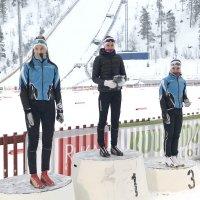 Ryhdin tytöt Haataja, Henriksson ja Hiitelä palkintokorokkeelle talven avauskisassa Rukalla