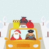 """Jouluna taksi kannattaa tilata hyvissä ajoin, sillä osa taksiyrittäjistä pitää vapaata: """"Yrittäjä, jolla on pieniä lapsia tai lapsenlapsia, voi helposti päättää pyhittää jouluaaton perheen kanssa olemiselle"""""""